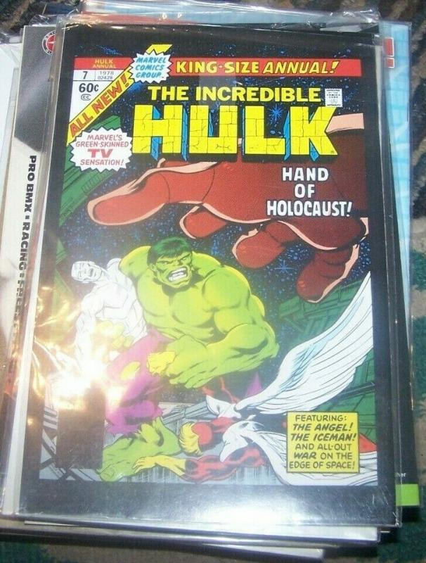 GIANT SIZE INCREDIBLE HULK #1  2008  marvel one shot