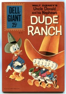 Uncle Donald and his Nephews Dude Ranch- Dell Giant #52 FN-