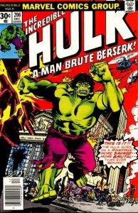 Incredible Hulk #206 (ungraded) stock photo ID#B-10