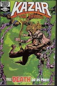 Ka-Zar the Savage #13 (Marvel, 1982)