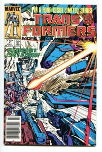 TRANSFORMERS #4 comic book 1985  Marvel VF/NM