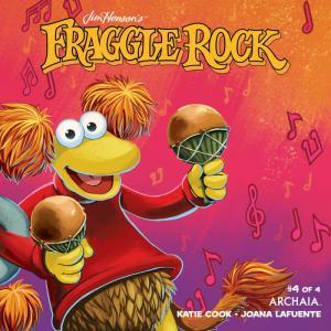 Jim Henson Fraggle Rock #4 Red Variant (Boom, 2018) NM
