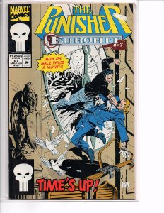 Marvel Comics (Vol. 2) The Punisher #67 Batroc Tarantula