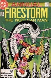 Fury of Firestorm (1982 series) Annual #4, NM- (Stock photo)