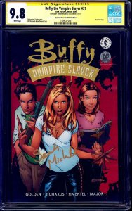 Buffy the Vampire Slayer #21 DF GOLD CGC SS 9.8 signed Sarah Michelle Gellar