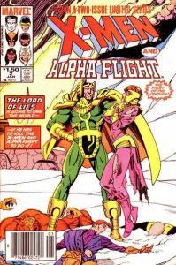 X-Men/Alpha Flight (1985 series) #2, VF+ (Stock photo)