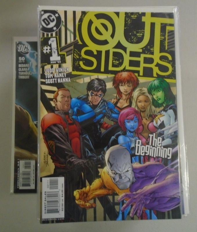 Outsiders set #1 to #50 - 3rd Third Series - 8.0 - 2003