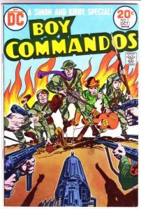 Boy Commandos #1 (Oct-68) VF High-Grade The Boy Commandos