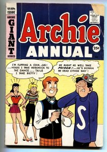ARCHIE ANNUAL #11 1959-JUGHEAD-BETTY & VERONICA-GIANT comic book g-