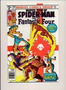 Marvel Team-Up SPIDER-MAN & FANTASTIC FOUR #100 Dec 1980 VERY FINE (PF381)