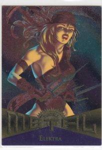 1995 Fleer Marvel Metal ELEKTRA #30  Card