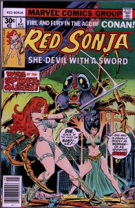 Red Sonja #3 ( 1st Series ) - 8.0 or Better