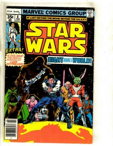 Lot Of 2 Star Wars Marvel Comic Books # 8 VF 12 VF Jedi Skywalker Solo R2D2 HJ9