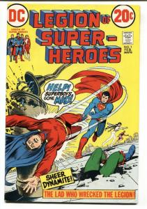 Legion of Super-Heroes #1-1973-Comic Book-First issue