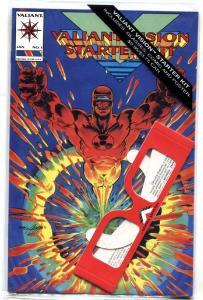 Valiant Vision #1 1993 Neal Adams sealed w/ glasses