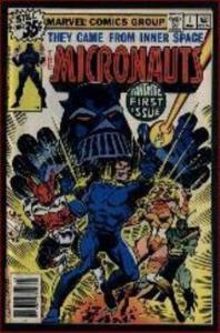 MICRONAUTS 25-Different, Classic Toy Tie In, Instant