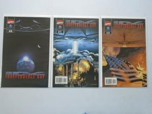 Independence Day set #0-2 8.5/VF+ (1996 Movie)