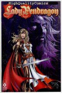 LADY PENDRAGON #0, NM+, Origin, 1999, Swords, Dragons, Drake
