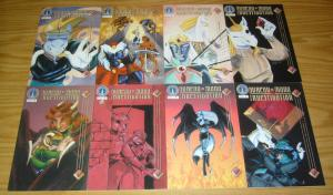 Bureau of Mana Investigation #1-8 VF/NM complete series - radio comix manga set
