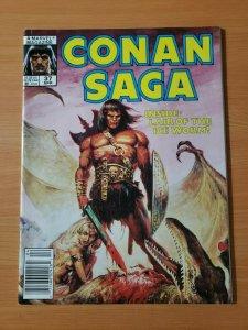 Conan Saga #37 ~ NEAR MINT NM ~ 1990 Marvel Comics