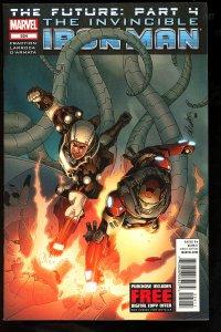 Invincible Iron Man #524 (2012)