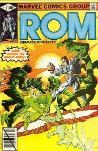 Rom (1979 series) #3, Fine- (Stock photo)