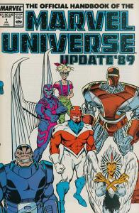 MARVEL UNIVERSE UPDATE (1989) 1-8  the COMPLETE series!