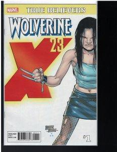 True Believers: Wolverine - X-23  #1 (Marvel, 2017)