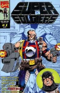 Super Soldiers #1, NM- (Stock photo)