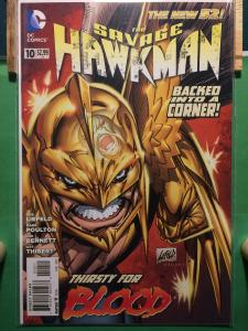 The Savage Hawkman #10 The New 52