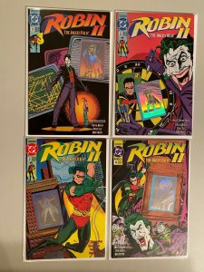 Robin 2 The Joker's Wild set #1-4 8.0 VF (1991)