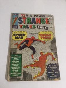 Strange Tales Annual 2 Gd/Vg Good/Very Good 3.0 Tape On Spine Marvel Silver Age