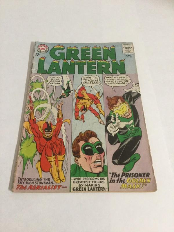 Green Lantern 35 Vg Very Good 4.0 DC Comics Silver Age