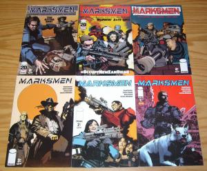 Marksmen #1-6 VF/NM complete series what happens when the world runs out of oil?
