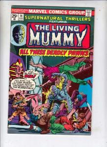 Supernatural Thrillers #14 (Aug-75) NM- High-Grade The Mummy