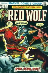 Red Wolf #6 VG; Marvel | low grade comic - save on shipping - details inside