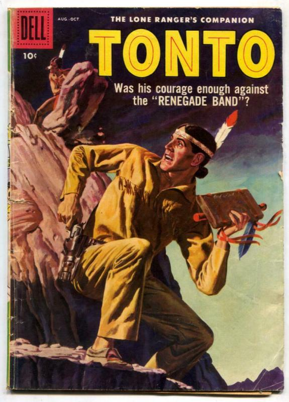 Tonto #32 1958-Dell Western-Lone Ranger's companion G