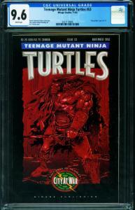 TEENAGE MUTANT NINJA TURTLES #53 CGC 9.6-1992-Later issue-2021118006