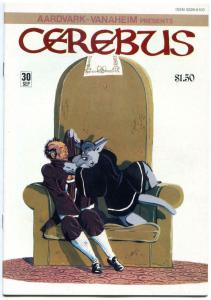 CEREBUS the AARDVARK #27 28 29 30, VF+, Dave Sim, 1977, more in store, QXT