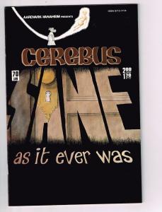 Cerebus The Aardvark # 70 VF/NM Aardvark-Vanaheim Comic Book Dave Sim 1st Pr S10
