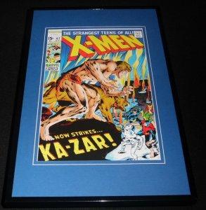 Uncanny X Men #62 Framed 11x17 Cover Display Official Repro Ka-Zar