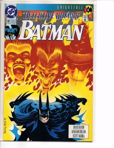 DC Comics Detective Comics #661 Batman; Knightfall Part 6 Kelley Jones Cover