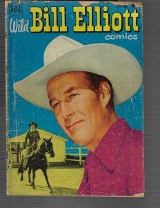 Wild Bill Elliot #8 (Dell, 1952)