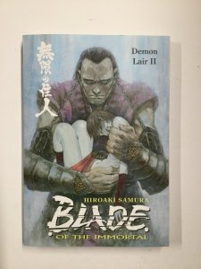 Blade Of The Immortal Demon Lair II TPB Softcover Sc Near Mint Nm Dark Horse