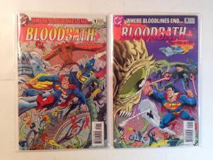 Bloodbath 1-2 Complete Near Mint Lot Set Run