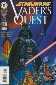 Star Wars: Vader's Quest #1 VF/NM; Dark Horse | save on shipping - details insid