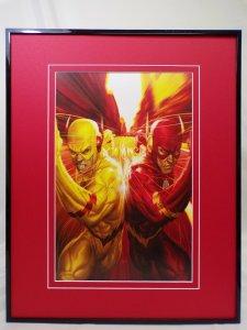 Flash #8 Reverse Flash Framed 16x20 Poster Display DC Comics Artgerm