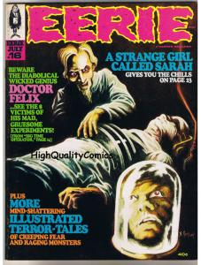 EERIE #16, Warren, Craig, Alex Toth, Vampire, Evil, 1968, VF