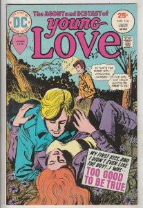 Young Love #116 (Jul-75) VF/NM High-Grade
