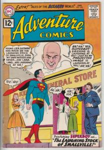 Adventure Comics #292 (Jan-62) VF/NM High-Grade Superboy, Lana Lang, Ma and P...